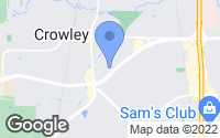 Map of Crowley, TX
