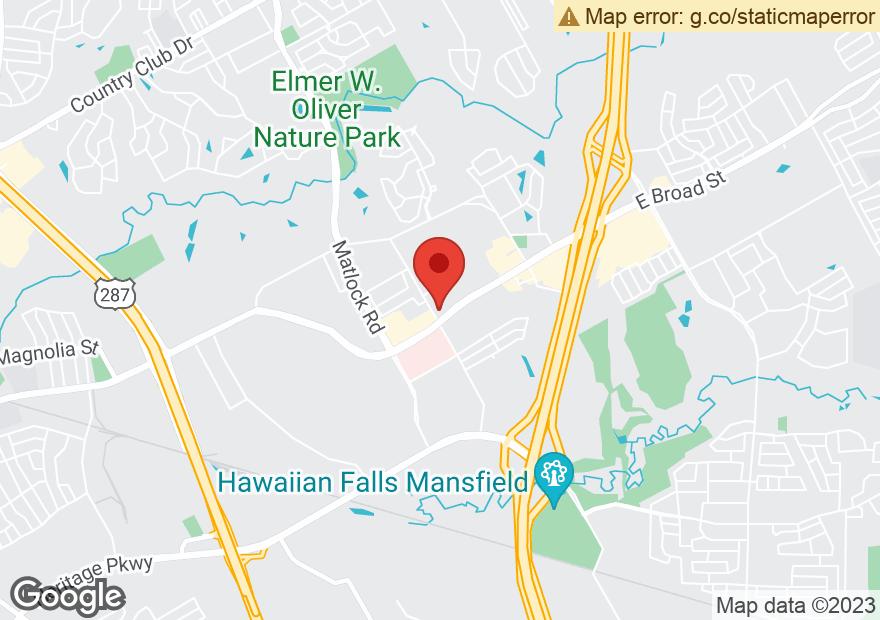 Google Map of 2901 E BROAD ST