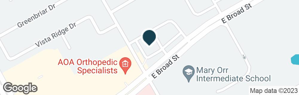 Google Map of2901 E BROAD ST
