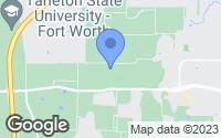 Map of Crowley, TX