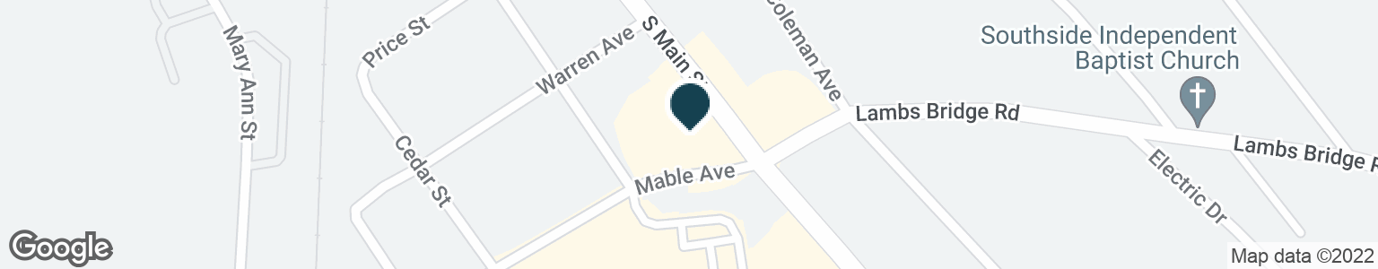 Google Map of390 S MAIN ST