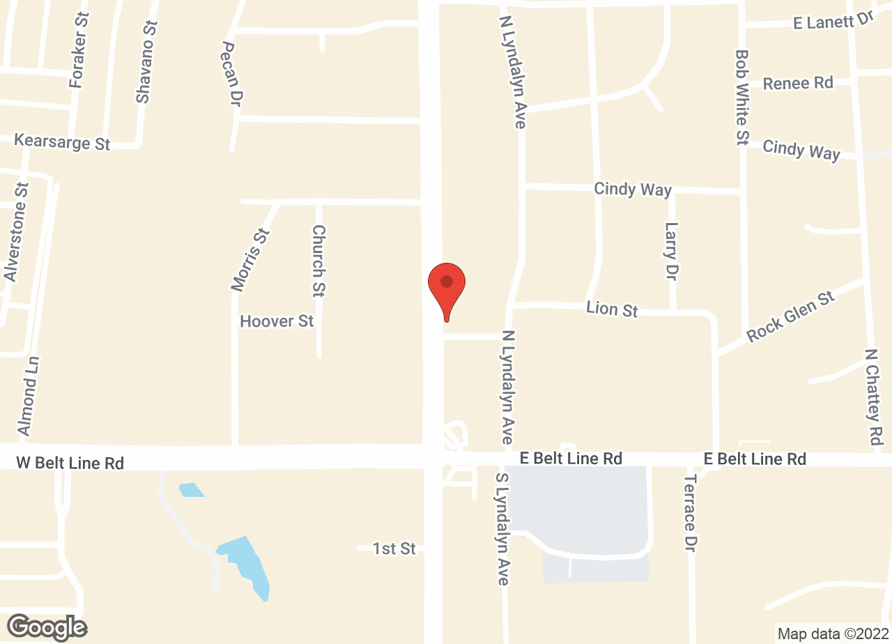 Google Map of VCA DeSoto Animal Hospital