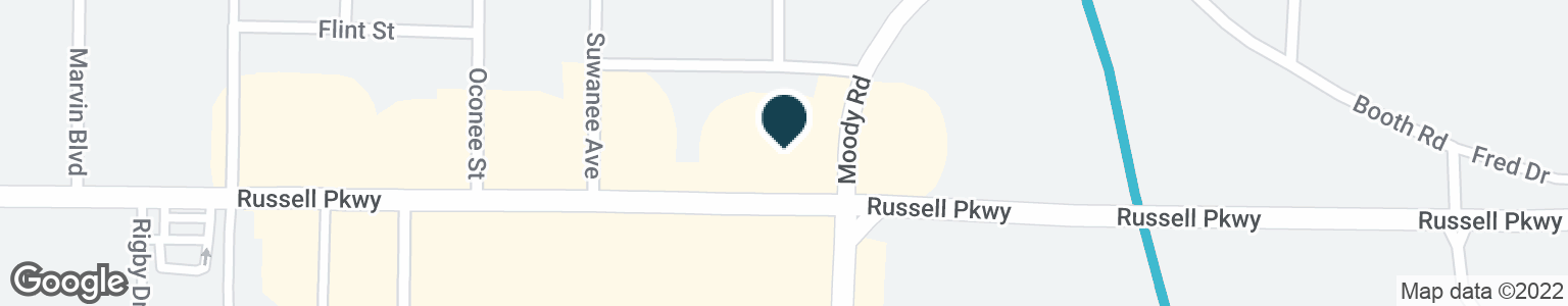 Google Map of102 RUSSELL PKWY