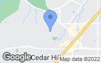 Map of Cedar Hill, TX