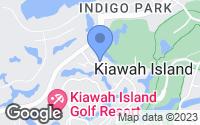 Map of Kiawah Island, SC