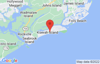 Map of Johns Island