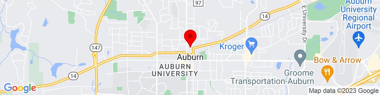 Google Map of 32.612167, -85.480797