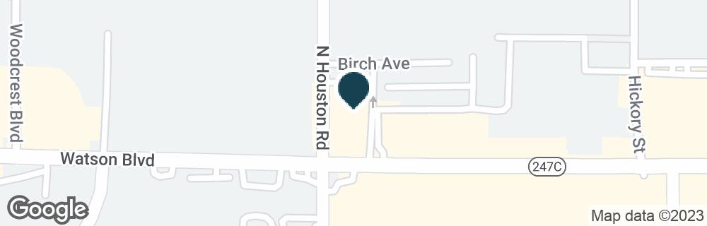 Google Map of1880 WATSON BLVD