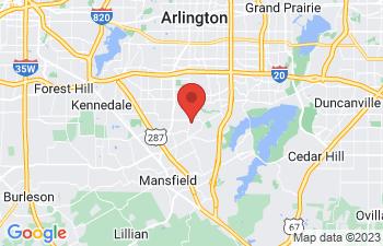 Map of Arlington