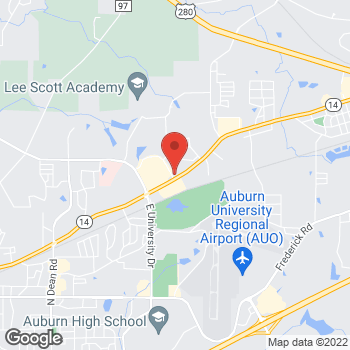 Map of Check `n Go at 1775 Opelika Rd, Auburn, AL 36830