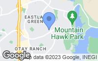 Map of Chula Vista, CA