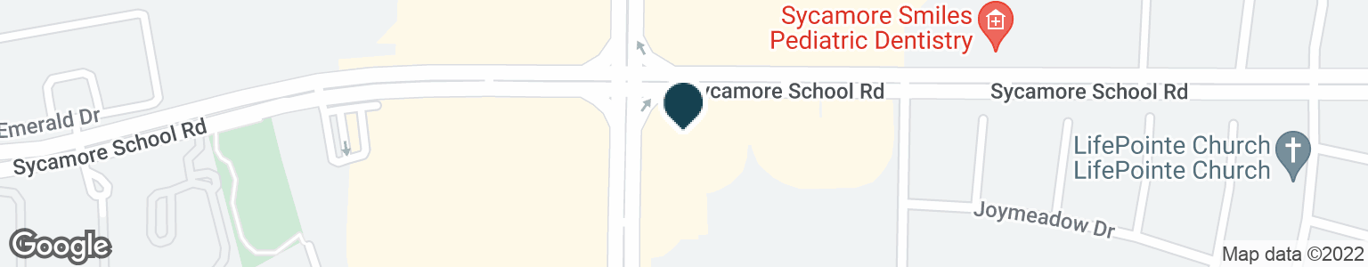 Google Map of3425 SYCAMORE SCHOOL RD