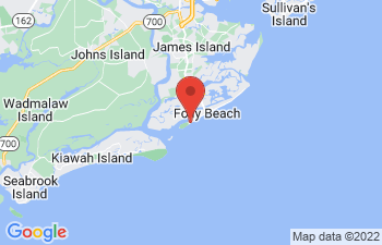 Map of Folly Beach