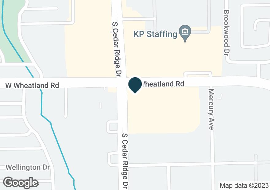 Google Map of750 W WHEATLAND RD