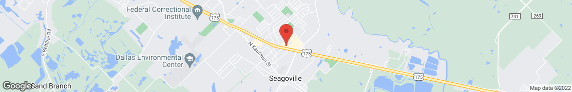 Map of 400 N Highway 175 in Seagoville