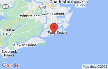 Map of Folly Beach