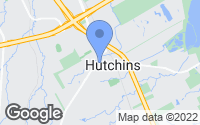 Map of Hutchins, TX