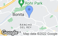 Map of Bonita, CA