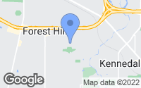 Map of Forest Hill, TX
