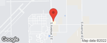 Map of 3939 S Avenue 3 E in Yuma