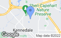 Map of Kennedale, TX