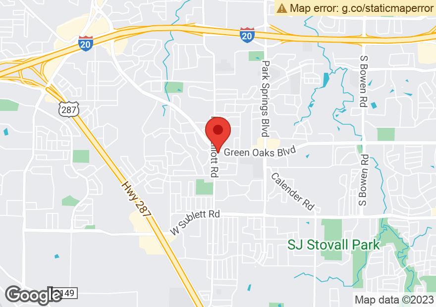 Google Map of 4208 SW GREEN OAKS BLVD