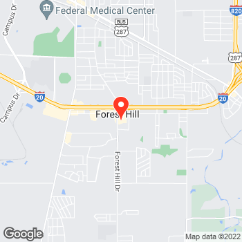 Map of Pizza en Fort Worth, TX – Cicis Pizza at 6619 Forest Hill Dr, Fort Worth, TX 76140