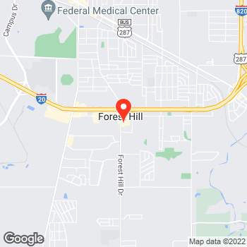 Map of Pizza in Fort Worth, TX – Cicis Pizza at 6619 Forest Hill Dr, Fort Worth, TX 76140