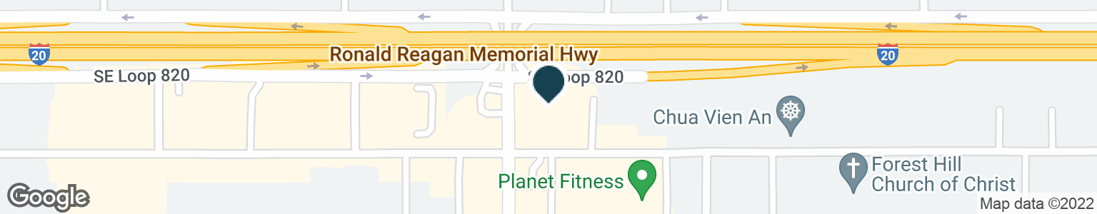 Google Map of6551 FOREST HILL DR