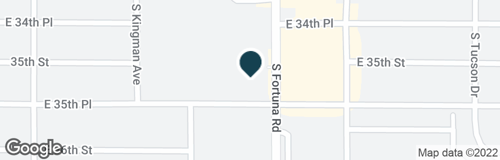 Google Map of11420 S FORTUNA RD
