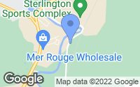 Map of Sterlington, LA