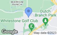 Map of Benbrook, TX