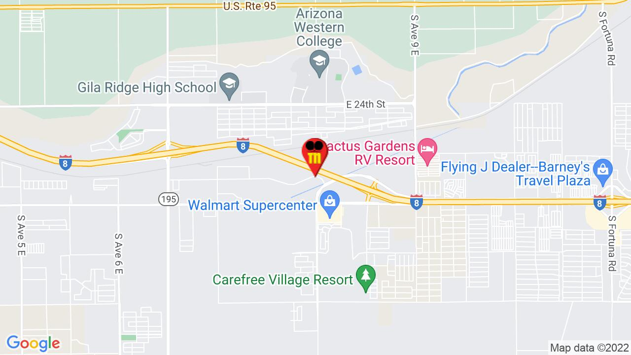 Google Map of Yuma Pest Control