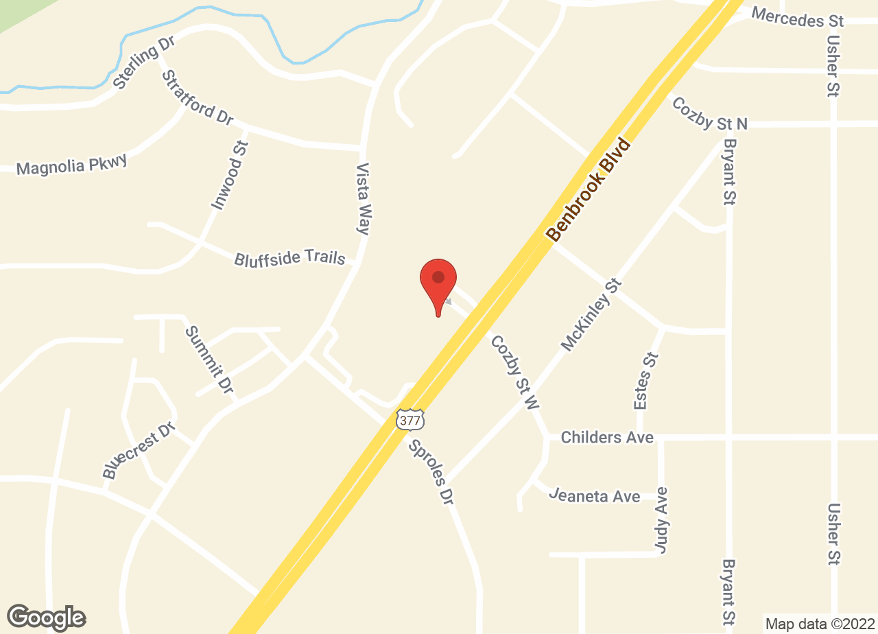 Google Map of VCA Mercedes Place Animal Hospital