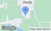 Map of Aledo, TX