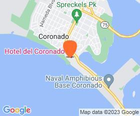 Hotel Del Coronado Location