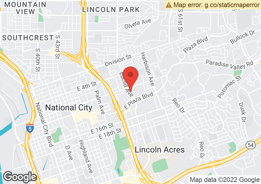 Google Map of 885 EUCLID AVE