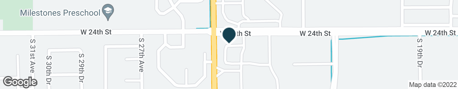 Google Map of2491 W 24TH ST