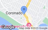 Map of Coronado, CA
