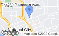 Map of National City, CA