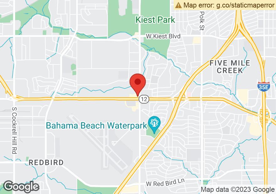 Google Map of 2401 W LEDBETTER DR