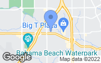 Map of Dallas, TX