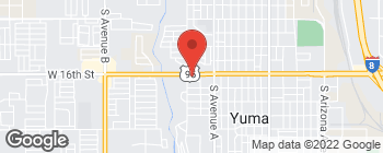 Map of 1355 W 16th St in Yuma