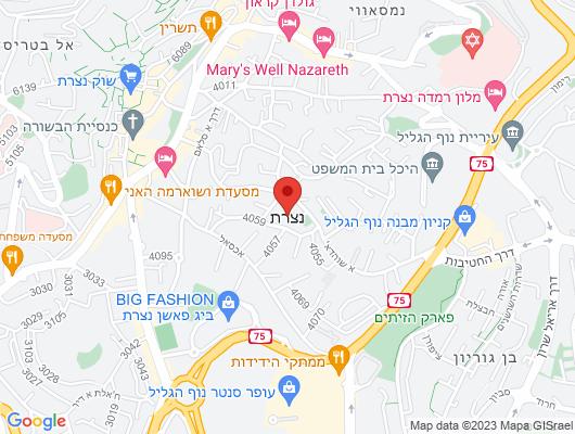 Google Map of צומת המוסכים, ת.ד 2499, נצרת