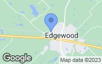 Map of Edgewood, TX