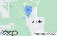 Map of Aledo, TX