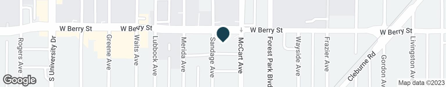 Google Map of3100 MCCART AVE