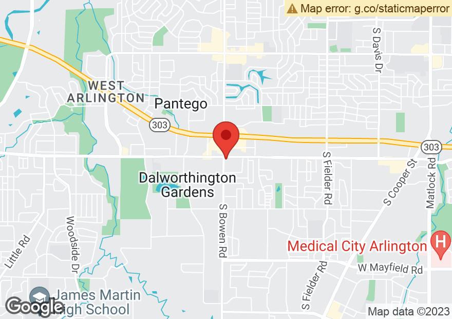Google Map of 2420 W ARKANSAS LN