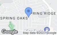 Map of Balch Springs, TX