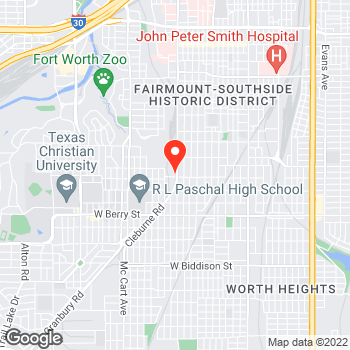 Map of Pizza en Fort Worth, TX – Cicis Pizza at 2724 8Th Ave, Fort Worth, TX 76110